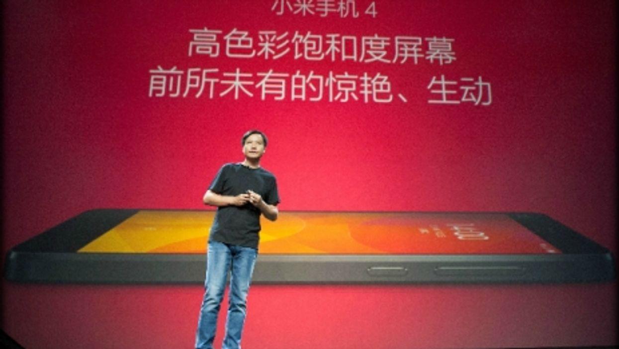 Lei Jun CEO of Xiaomi, one of China's rare global innovators.