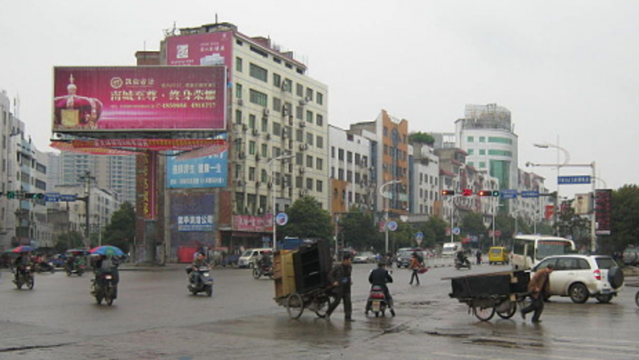 Leiyang at a crossroads