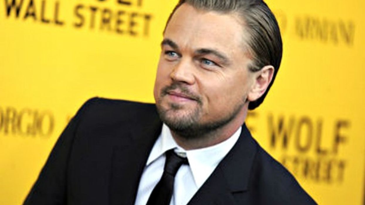 Leonardo DiCaprio attending the 'Wolf Of Wall Street' premiere in NYC in 2013.
