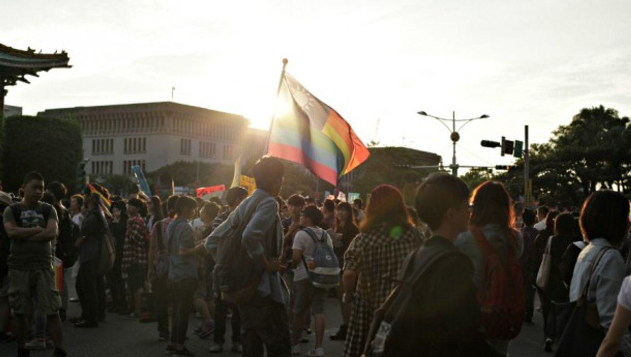 LGBT march in Taipei, Taiwan