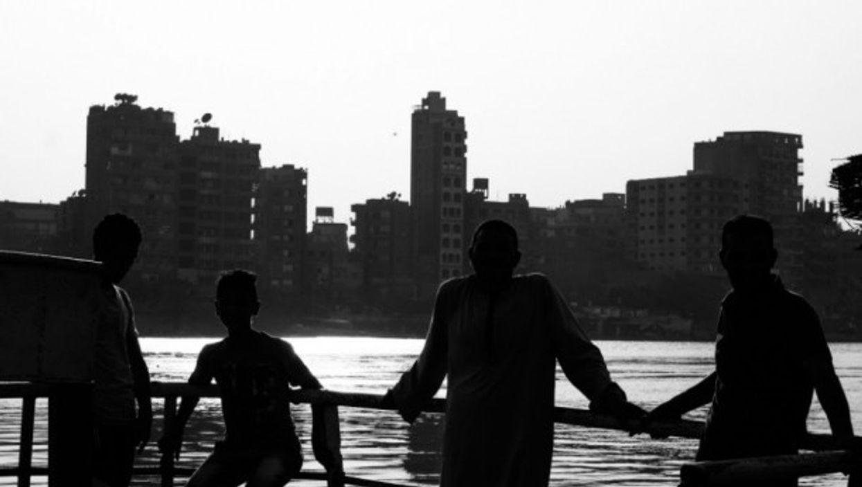 Life along the Nile river