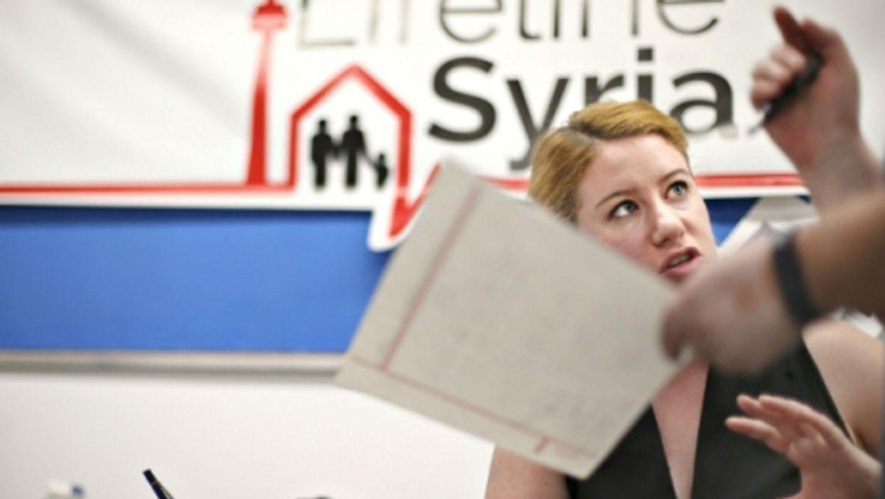 Lifeline Syria, a Toronto-based organization that helps Syrian refugees.