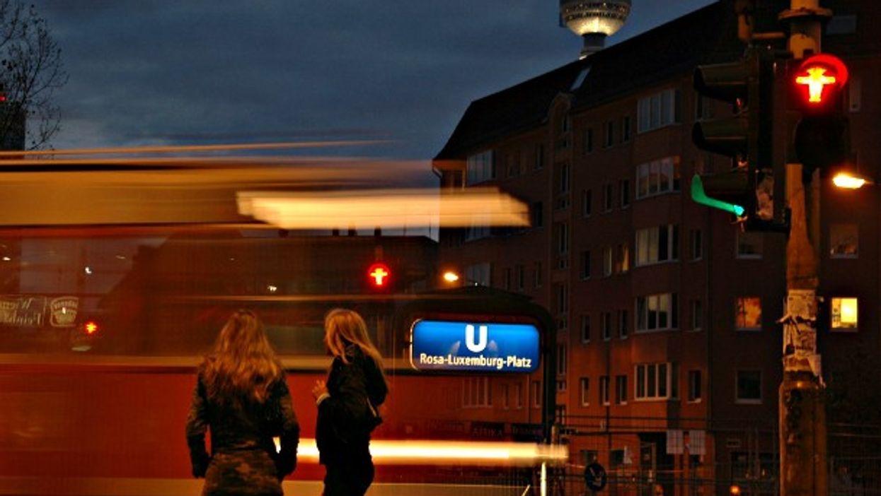 Light turns red in Berlin