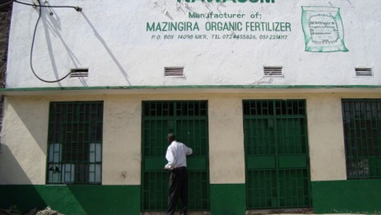 Local NGOs, like this one in Kenya, often have
