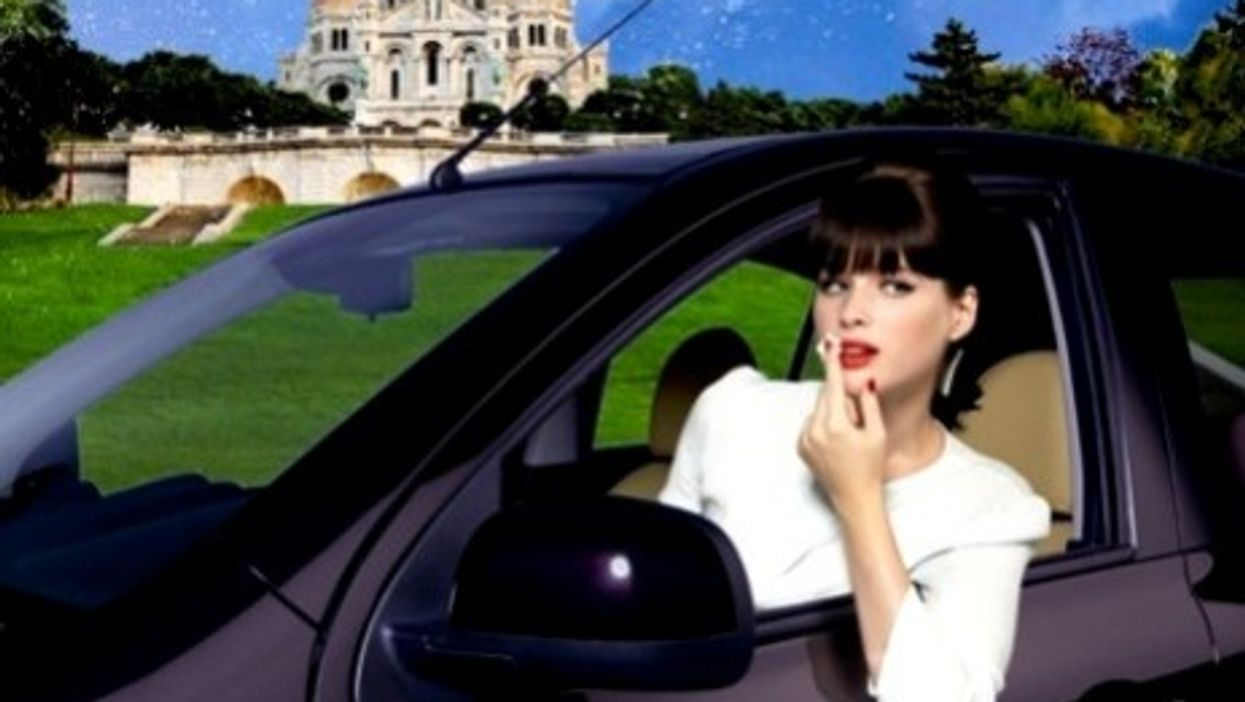Lolita Lempicka's version of the Nissan Micra