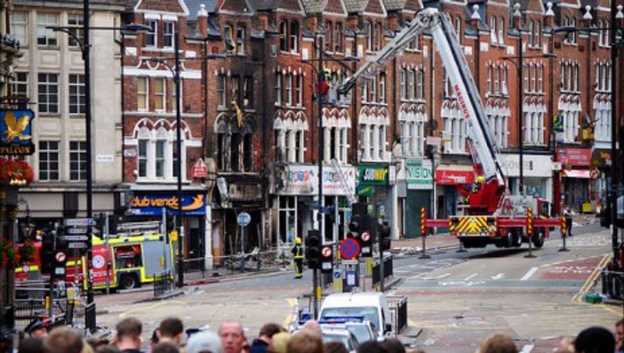 London, last week, after a night of rioting. (George Rex)