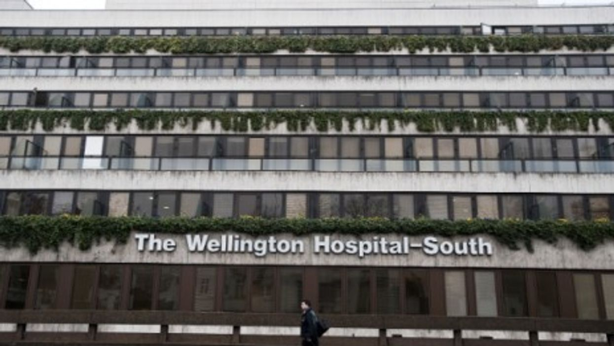 London's Wellington Hospital, famous in China after Olympic star Liu Xiang's stay there.