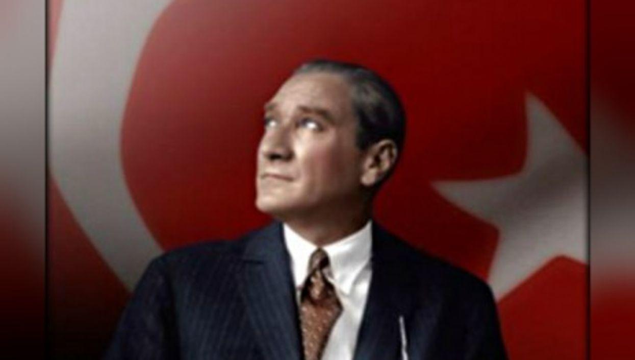 Looking West? Ataturk, founder of modern Turkey