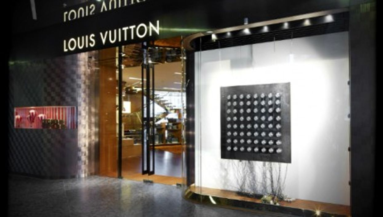 Louis Vuitton store in Warsaw