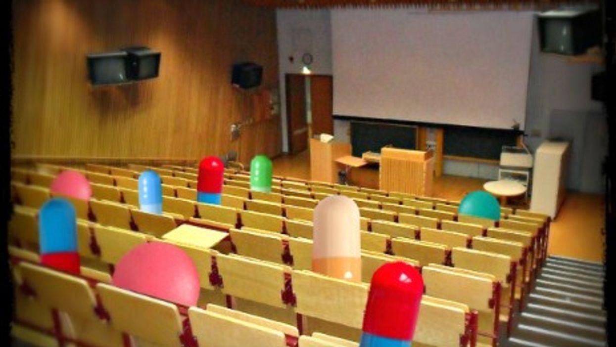 Lubeck Faculty of Medicine's auditorium