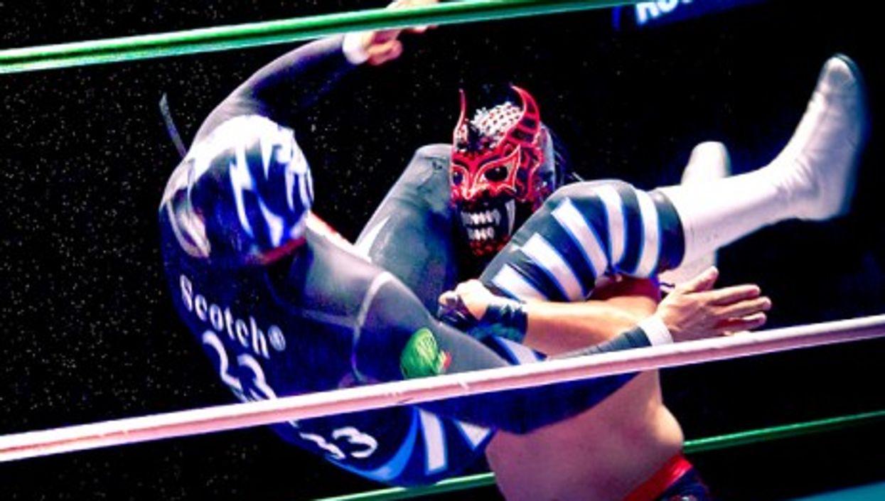 """Luchadores"" in Mexico"