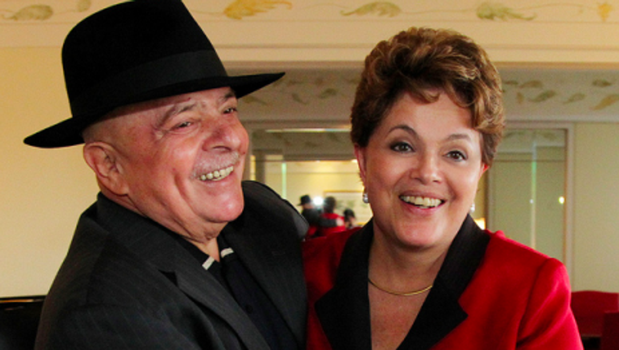 Lula and Dilma in December