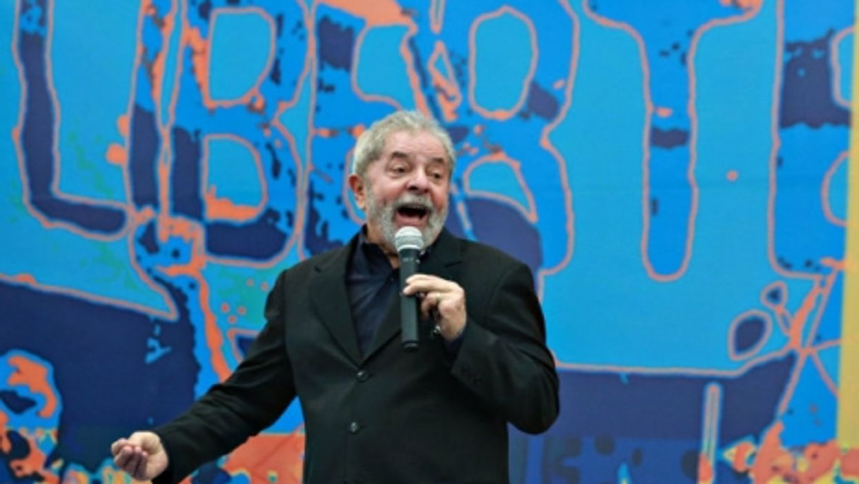 Lula last April