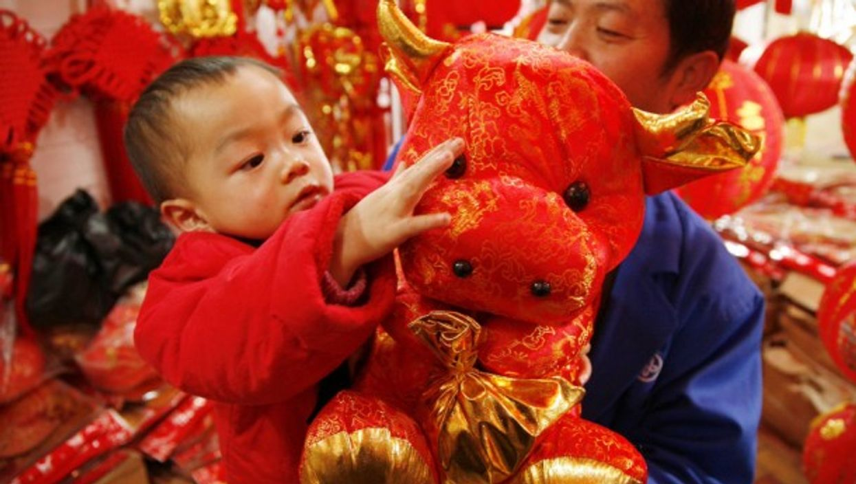 Lunar New Year celebrations start today in China. The year 2021 is the Year of the Ox.