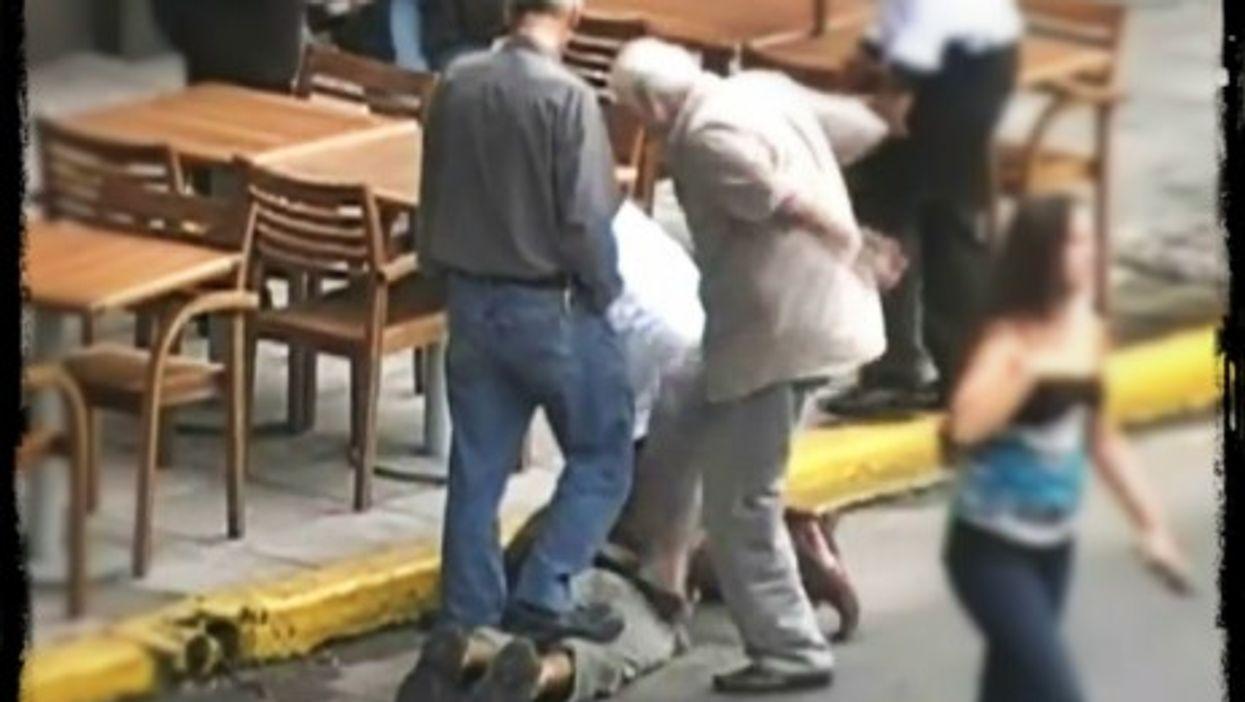 Lynching in Merlo, Argentina