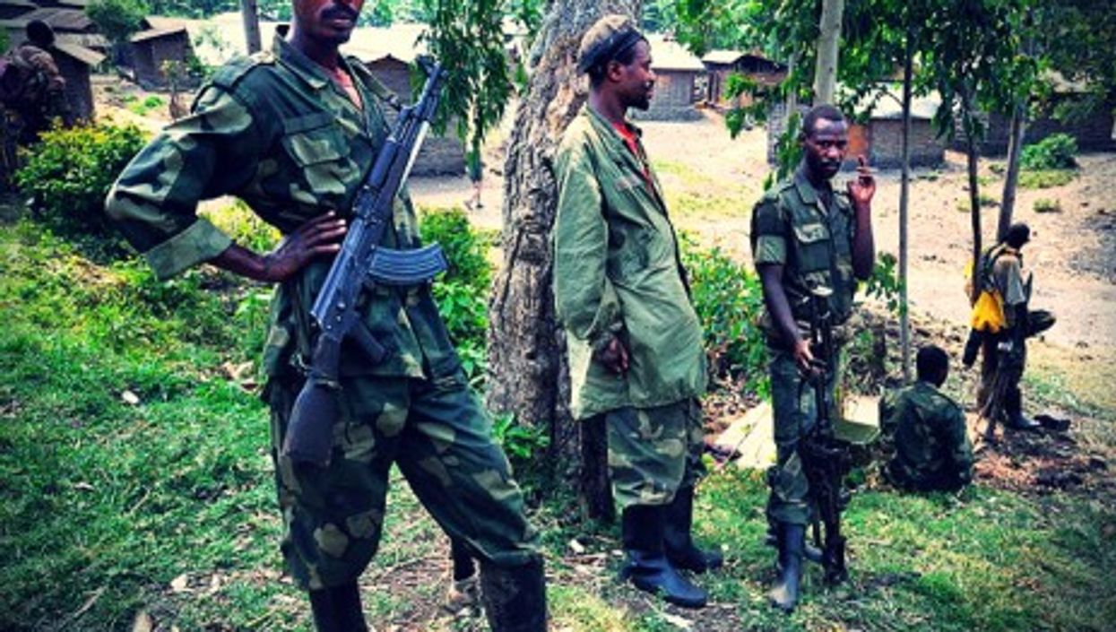 M23 fighters in North Kivu, Democratic Republic of Congo