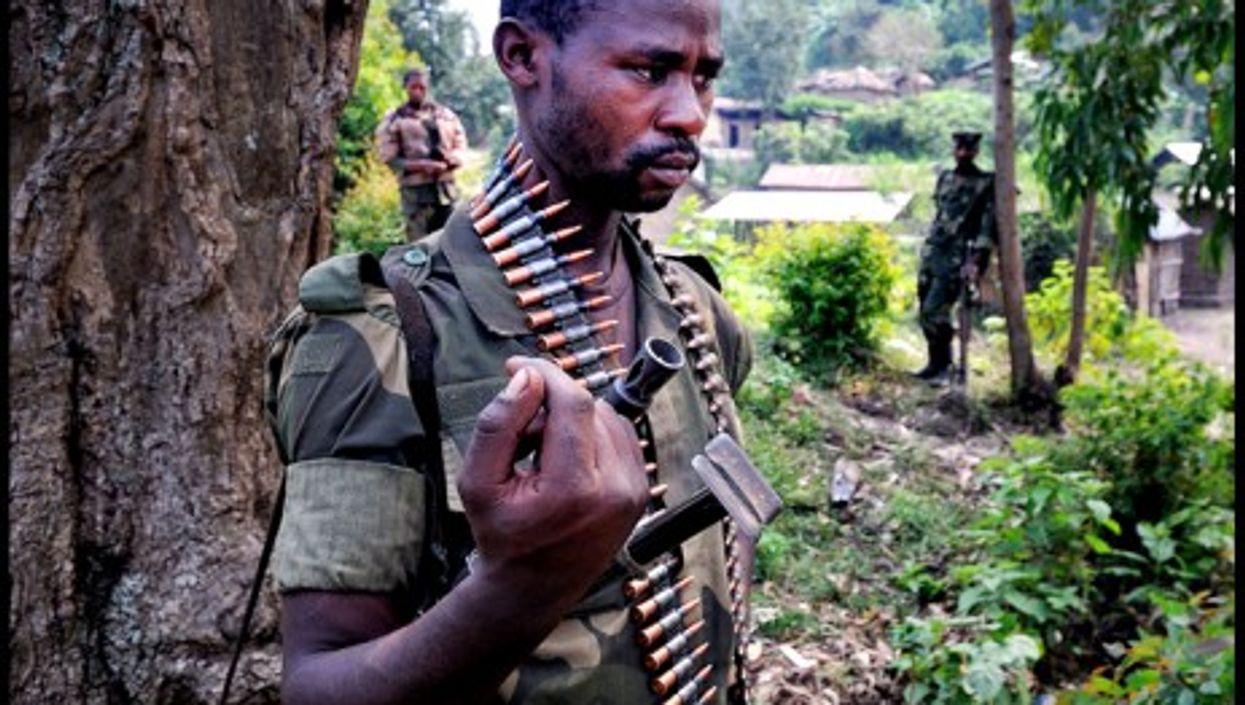 M23 troops in Bunagana, North Kivu