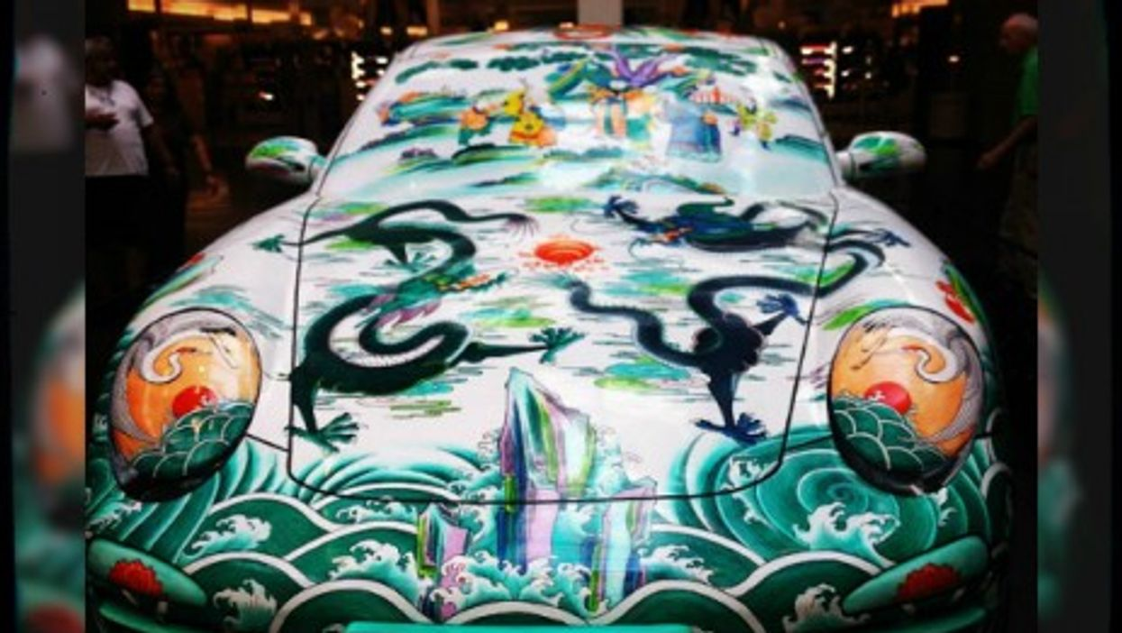 "Ma Jun's ""Porcelain Porsche"""