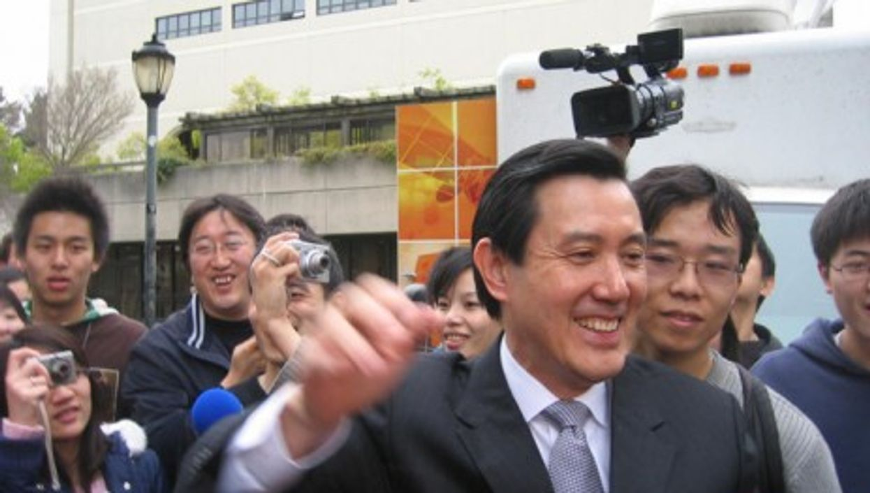 Ma Ying-jeou, the current president of Taiwan