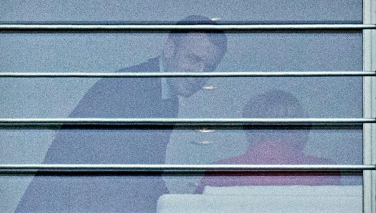 Macron meeting with Merkel in Berlin on March 16