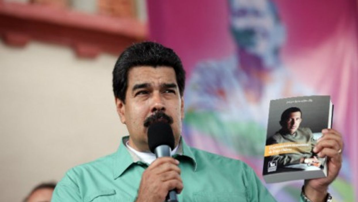 Maduro, holding on to the past?