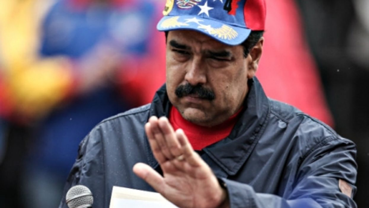 Maduro on May 1 in Caracas.