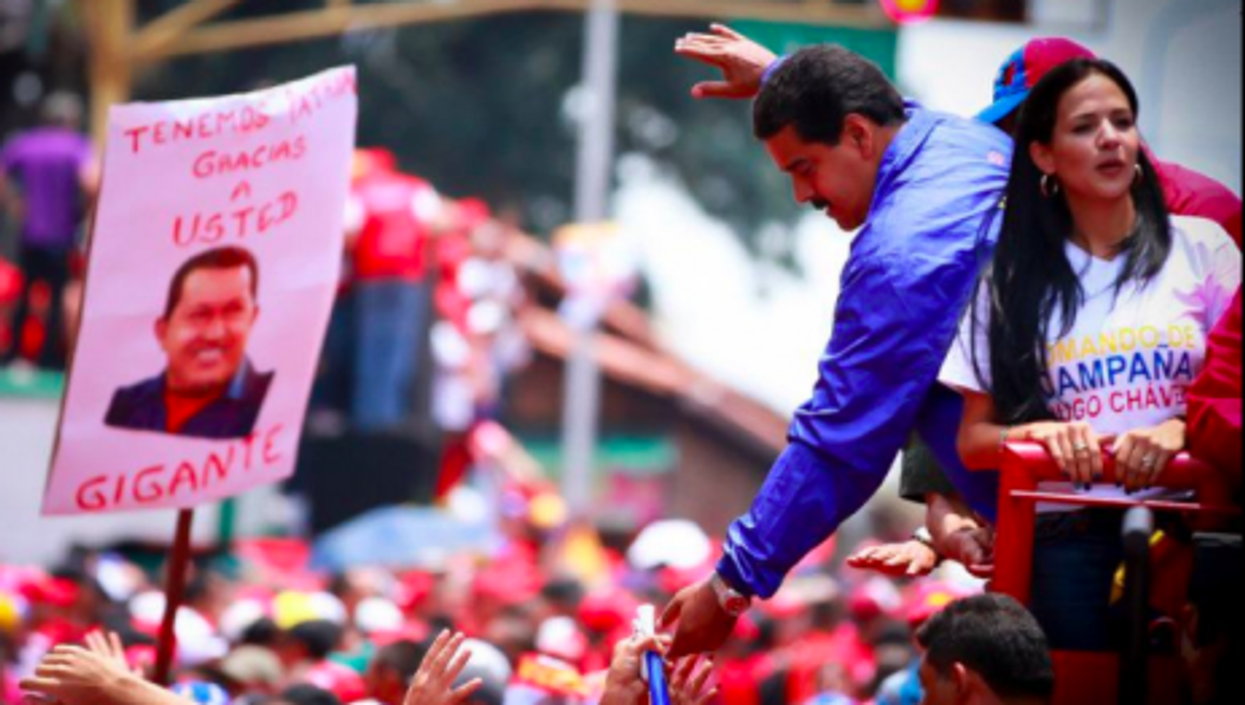 Maduro tries the personal touch