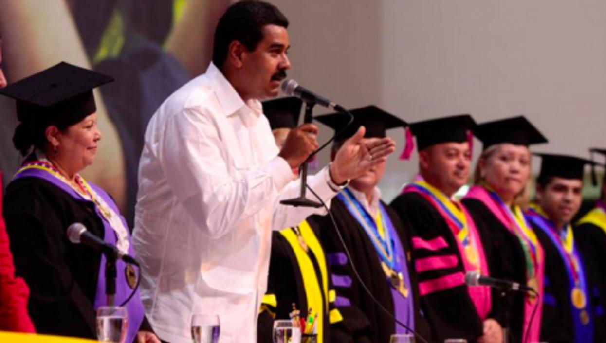 Maduro's turn