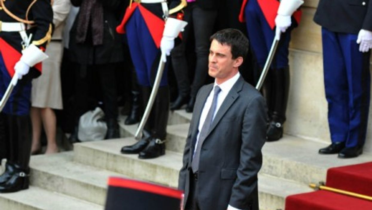 Manuel Valls, appointed French prime minister on April 1, 2014