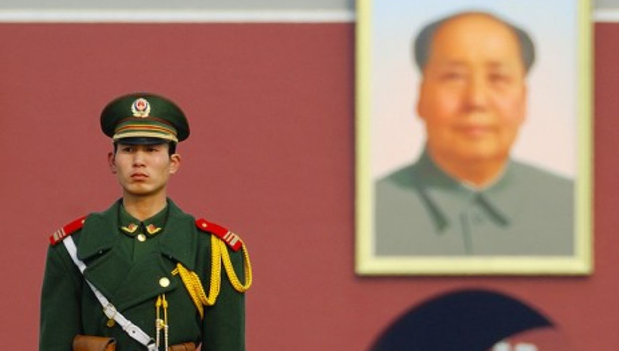 Mao is still omnipresent, at least in public (Richard Fisher)