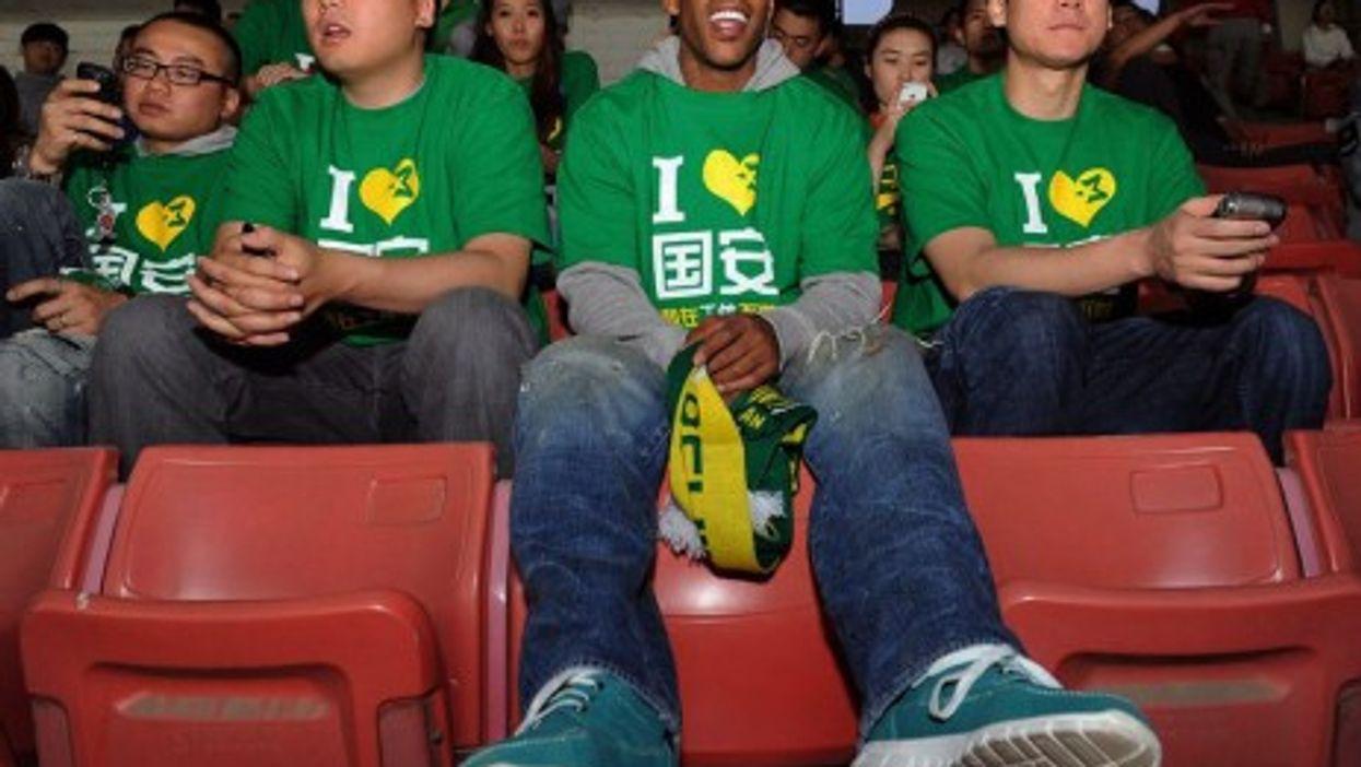 Marbury is loving life in Beijing (www.yaomingmania.com)