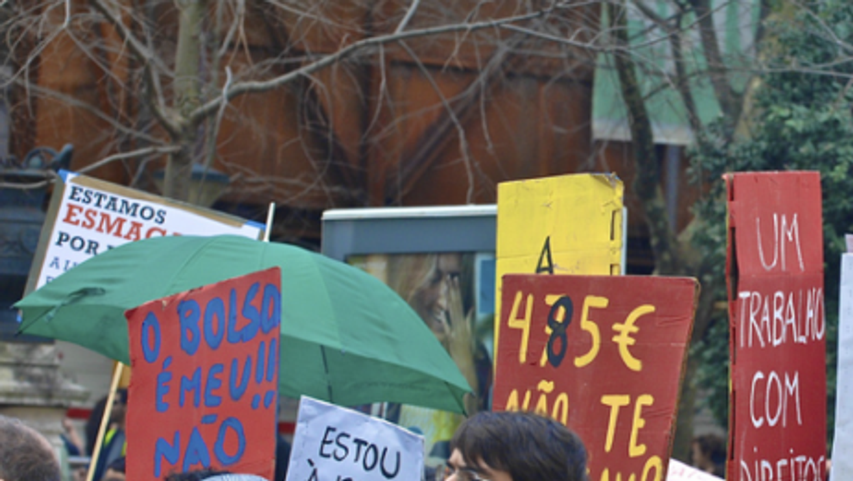 March 12 demonstration in Lisbon (Pedro Simoes)