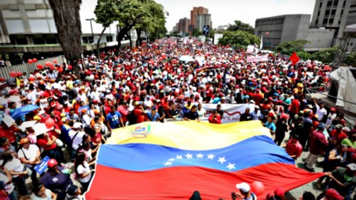 March 15 demonstration against U.S. sanctions in Caracas