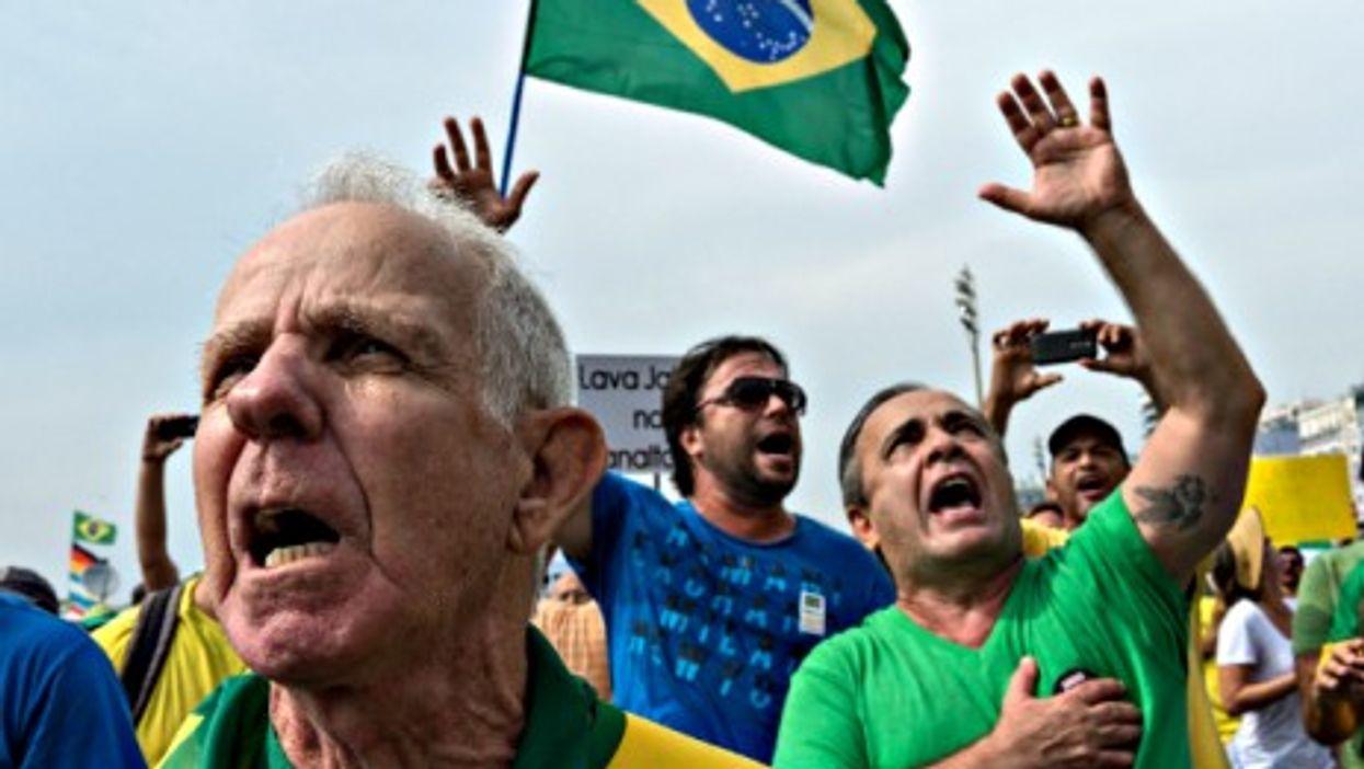 March 15 protest in Rio de Janeiro