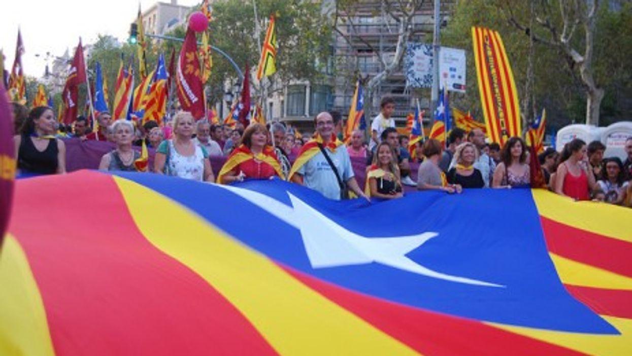 Marching on Barcelona, Sept. 11 2012