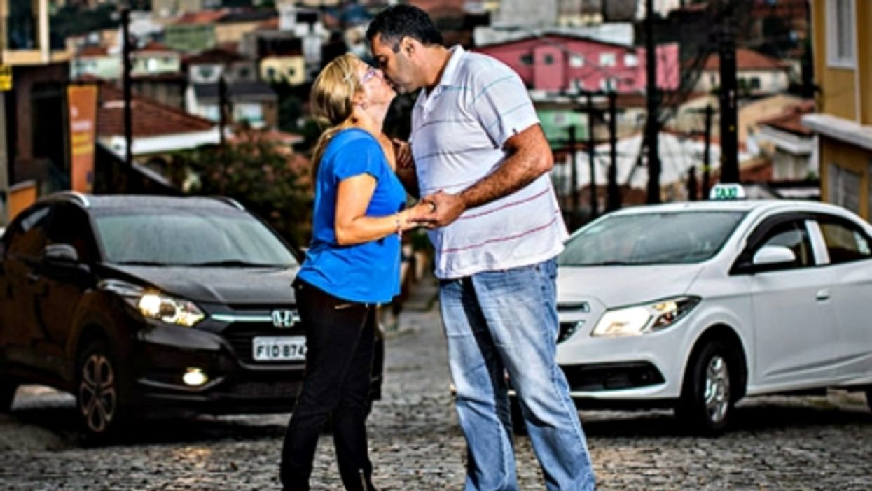 Marcio and Eunice: taxi and Uber drivers
