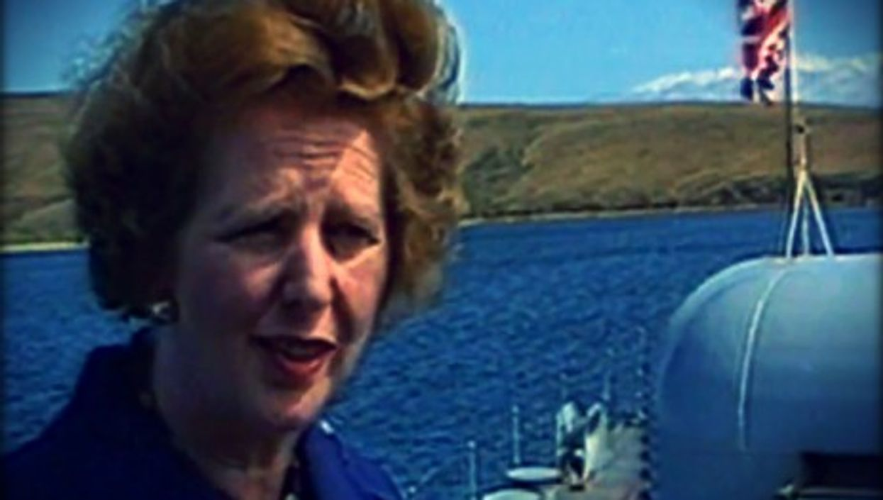 Margaret Thatcher only went to the Falklands twice