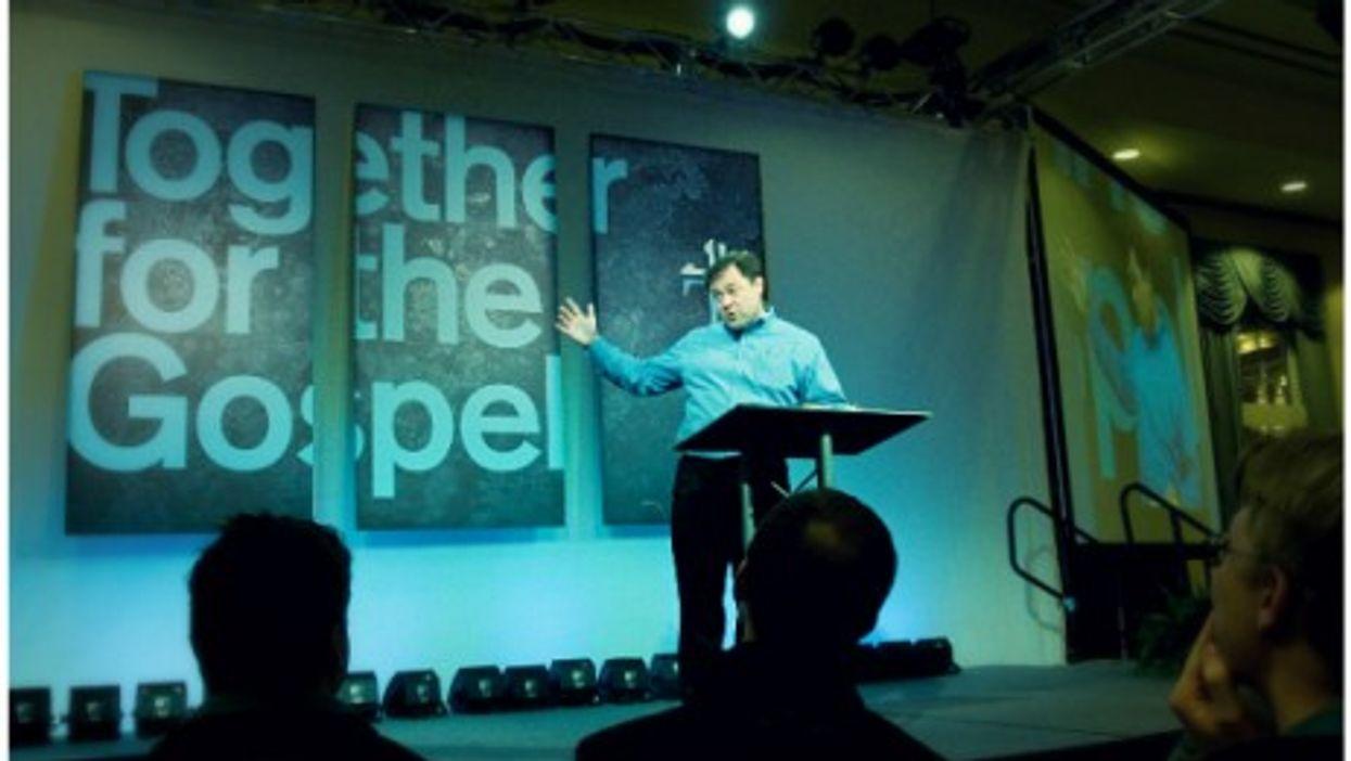 Mark Dever, senior pastor of Washington's Capitol Hill Baptist Church