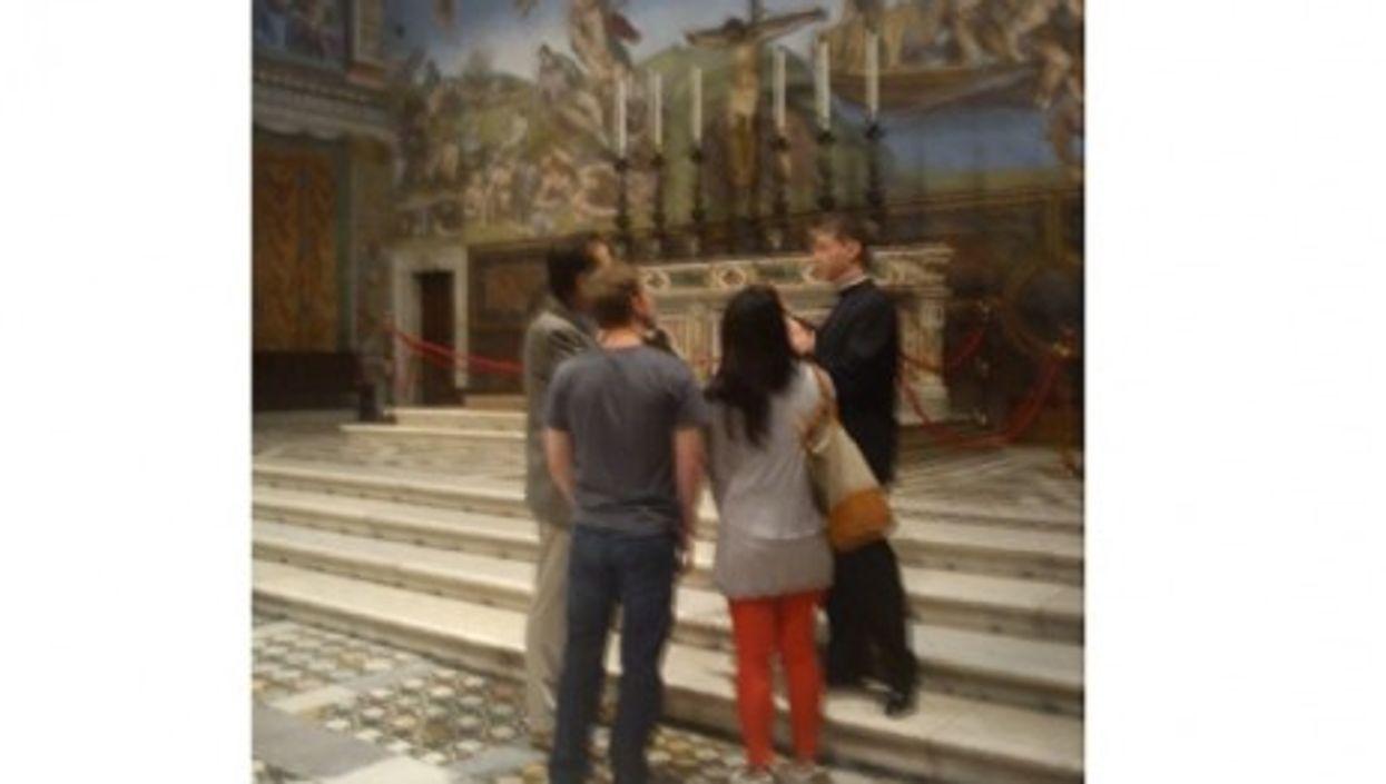 Mark Zuckerberg *likes the Sistine Chapel (Twitter)