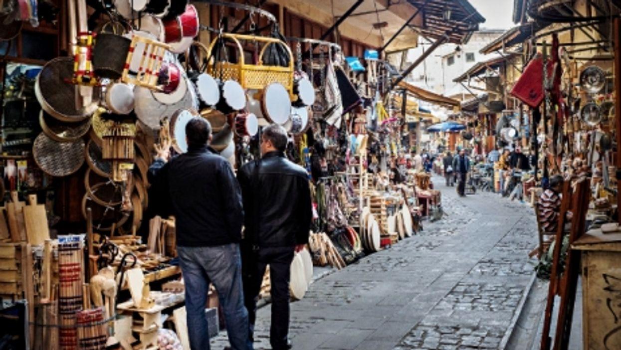 Market in Gaziantep, Turkey