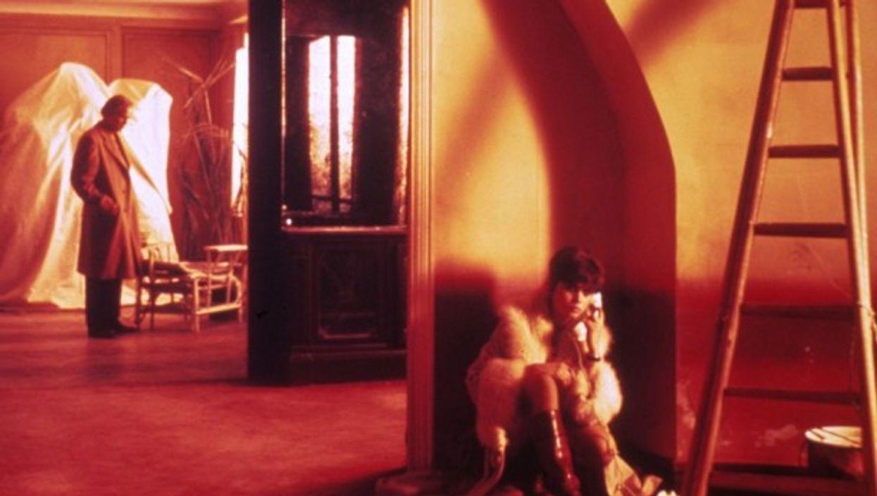 Marlon Brando and Maria Schneider in Last Tango In Paris, 1972