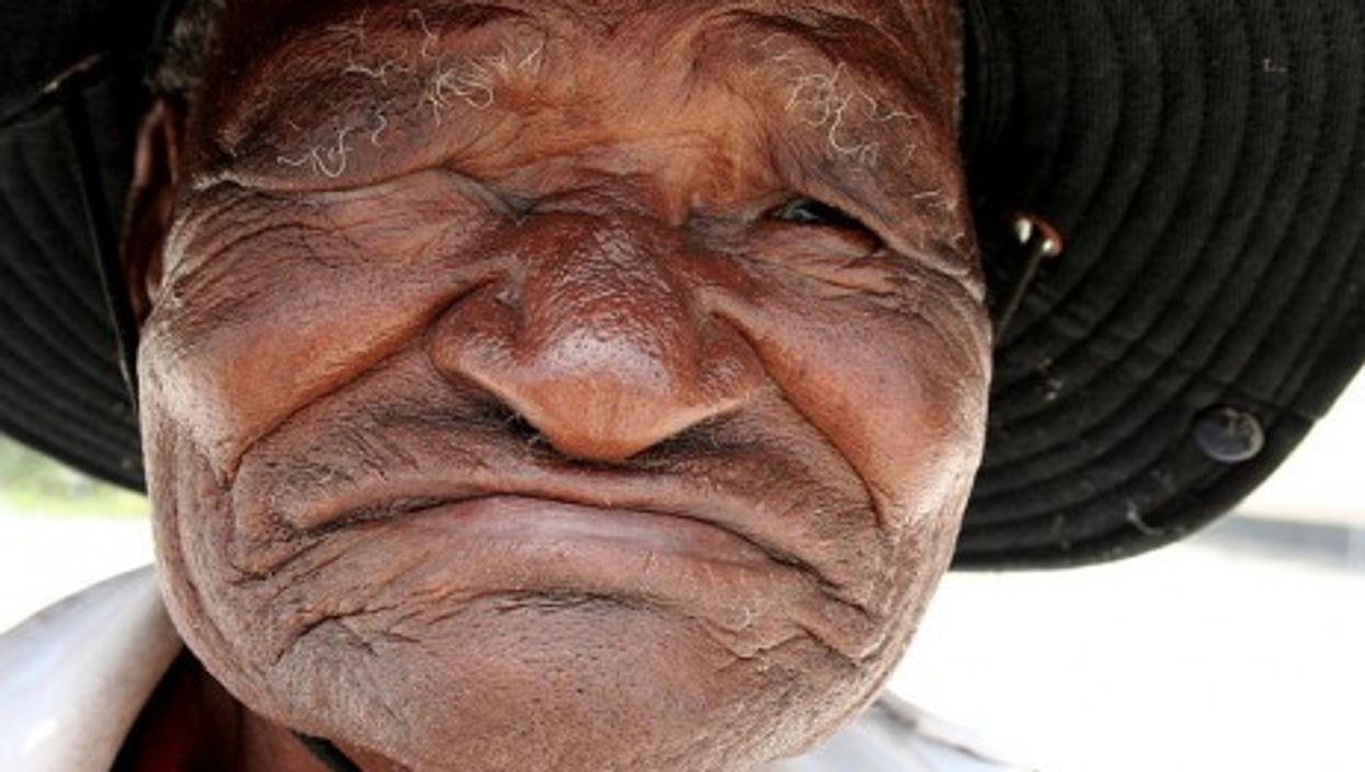 Masarwa Man, Botswana (Jon Rawlinson)
