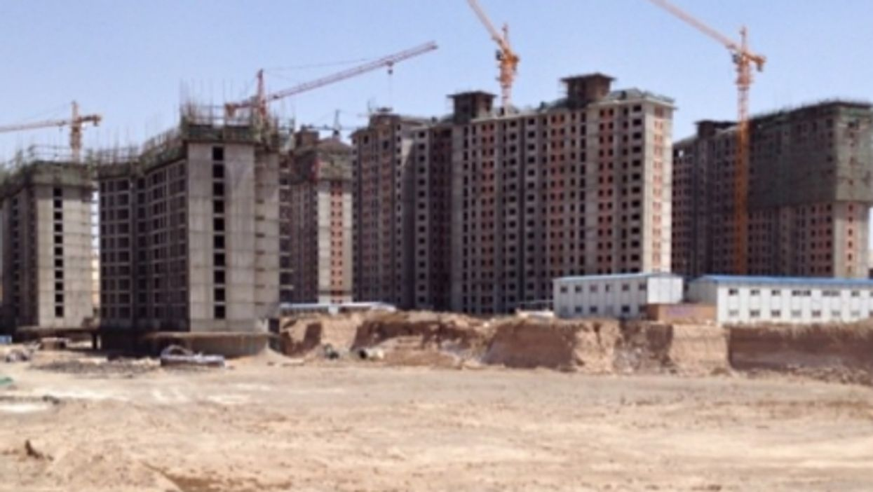 Giant Ghost Town Reflects What's Wrong With China's Economic Model