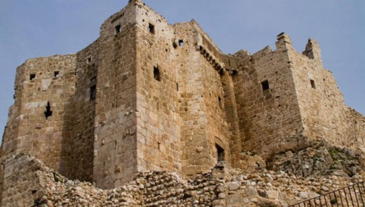 Masyaf Castle in Syria