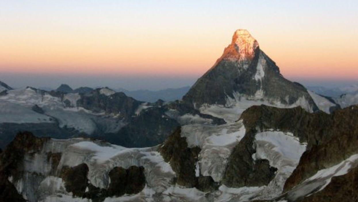 Matterhorn at dawn (Franco Pecchio)