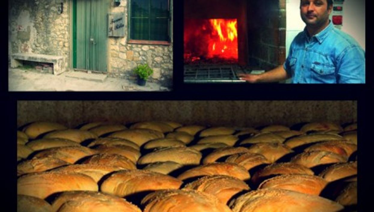 """Maurizio Spinelli, baker of the """"best bread in Sicily"""""""