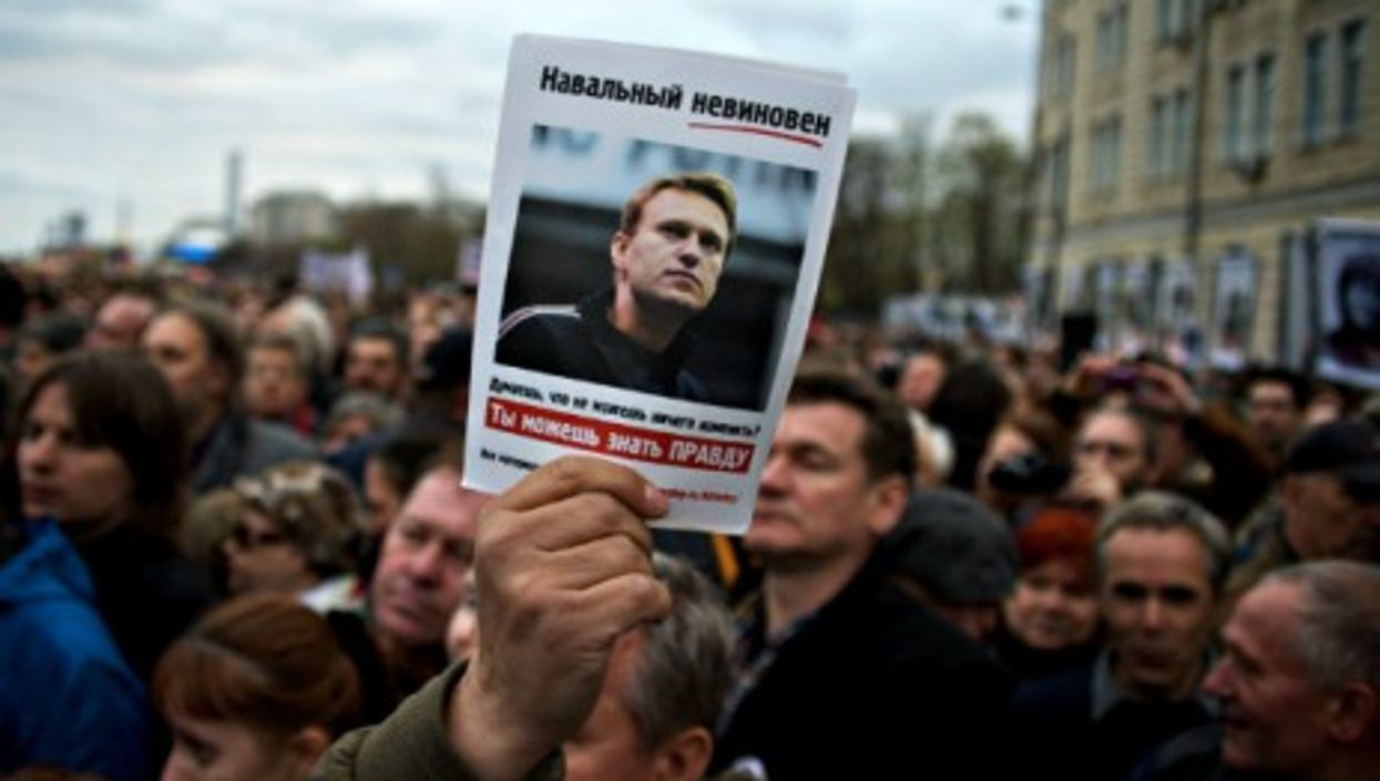 May 2013 protest in support of Alexei Navalny in Moscow