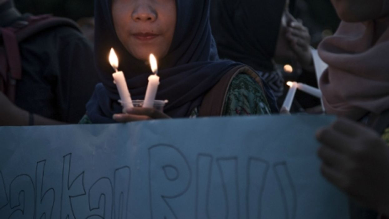 May 4 demonstration in Jakarta to protest violence against women