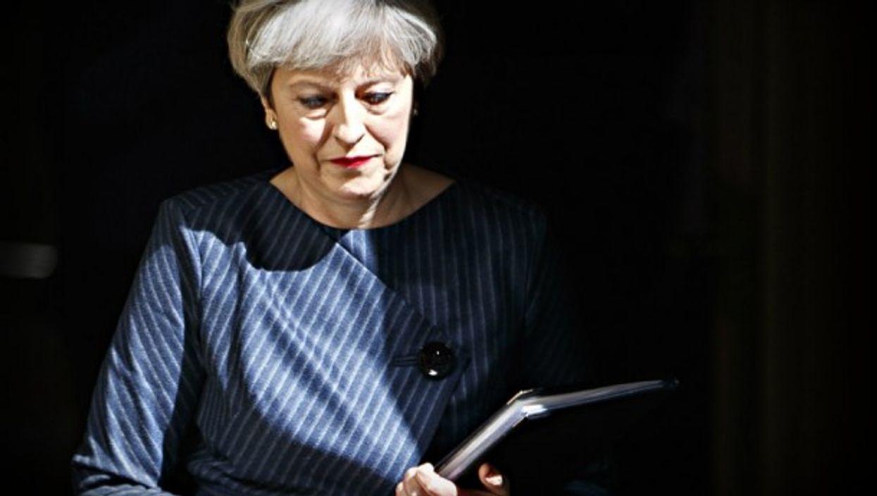 May at 10 Downing Street on Tuesday
