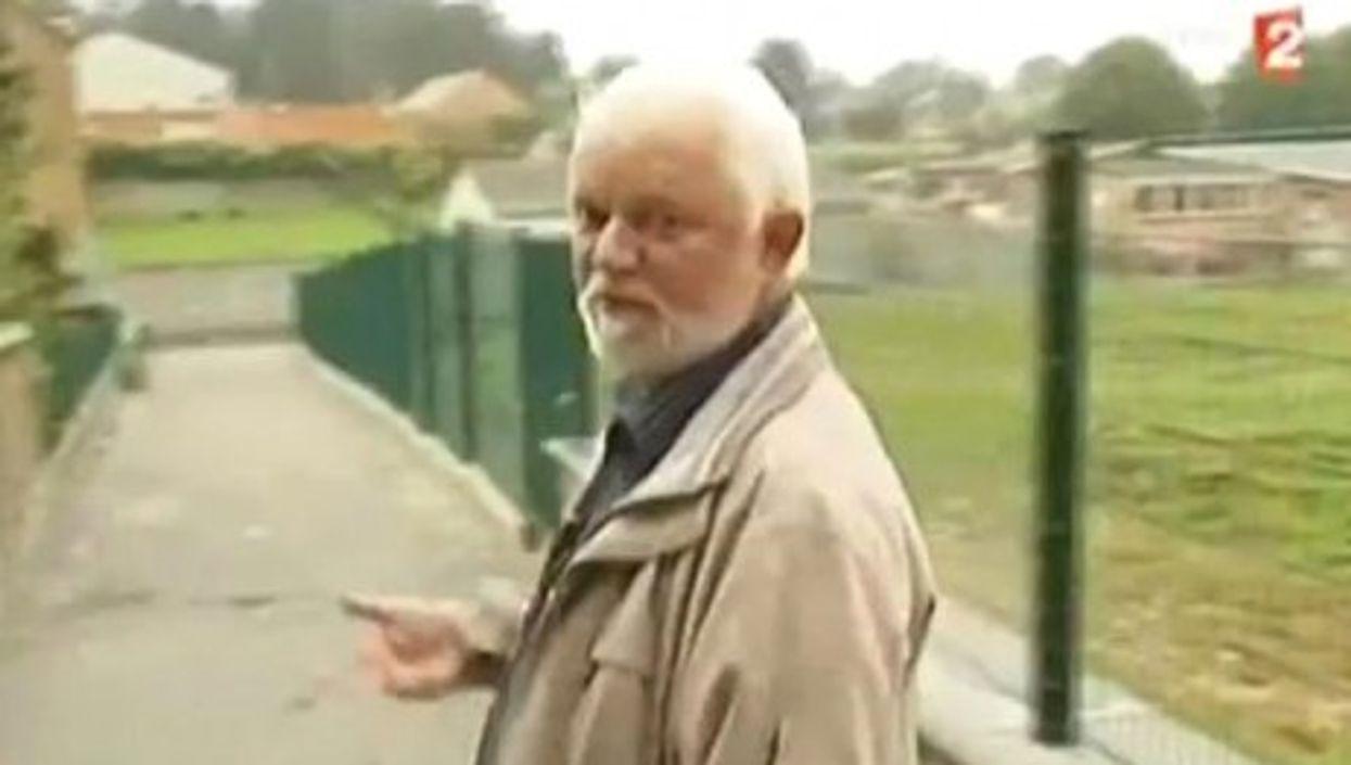 Mayor Boisart straddles no fence (France 2)